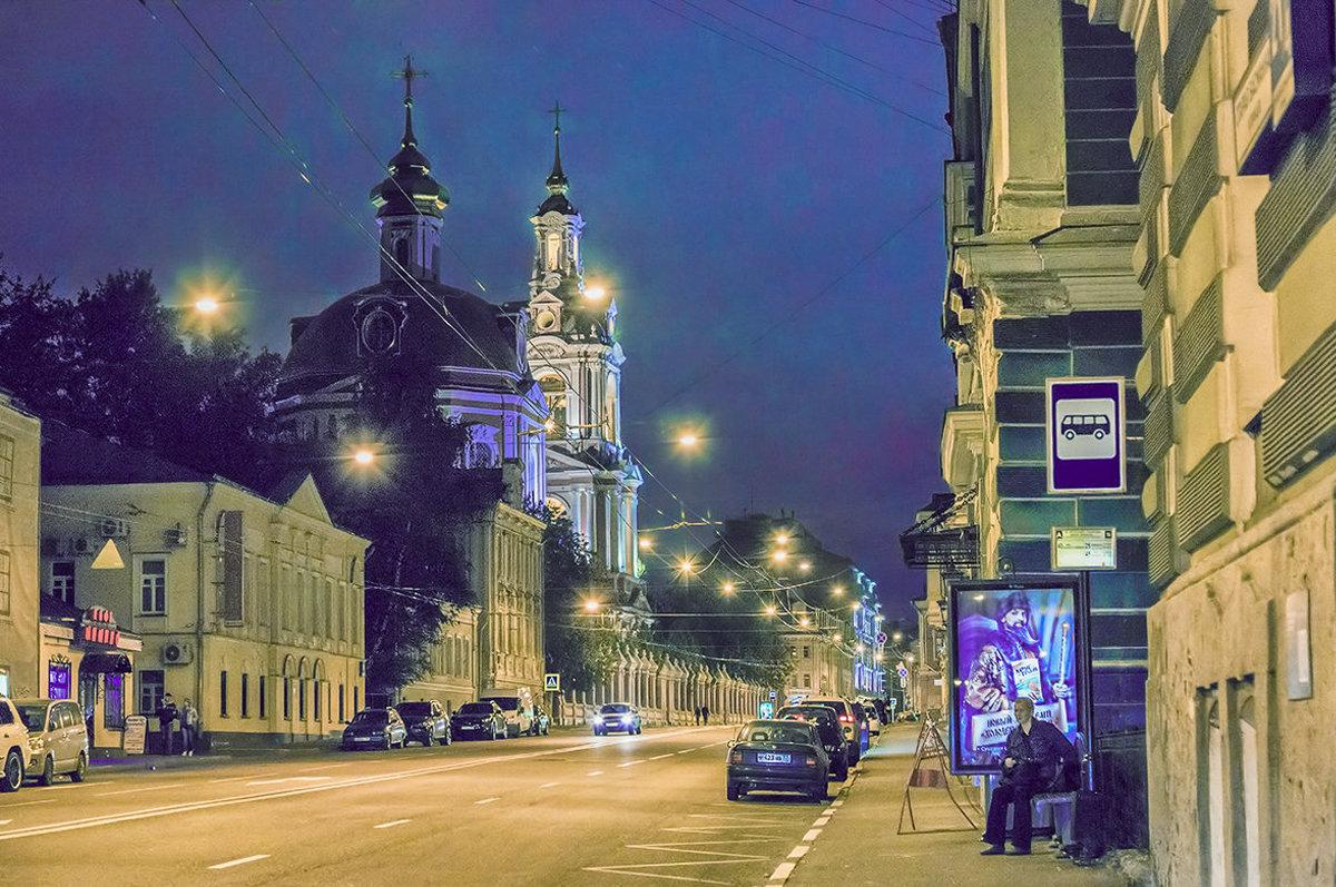 Москва. Ночь - Виталий Лабзов