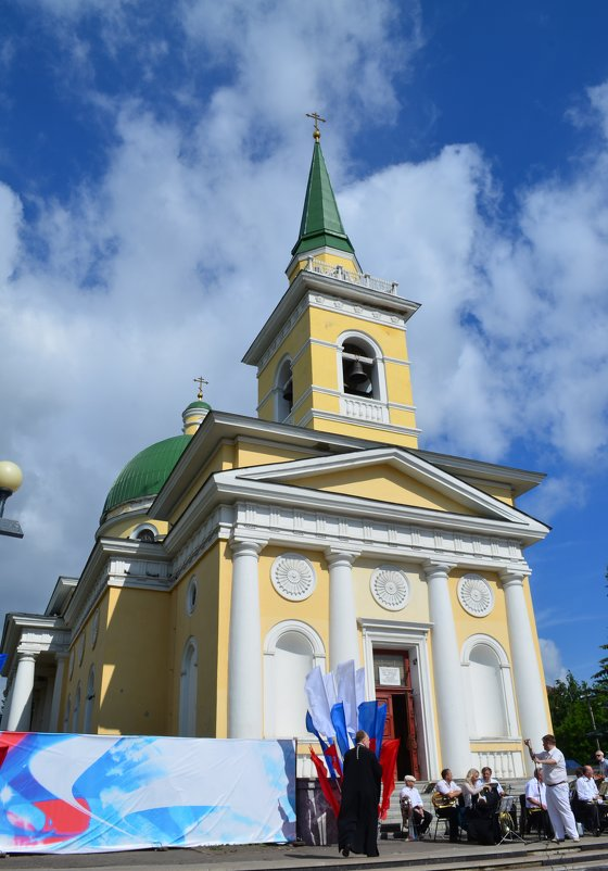 Омский Свято-Никольский Казачий собор - Savayr