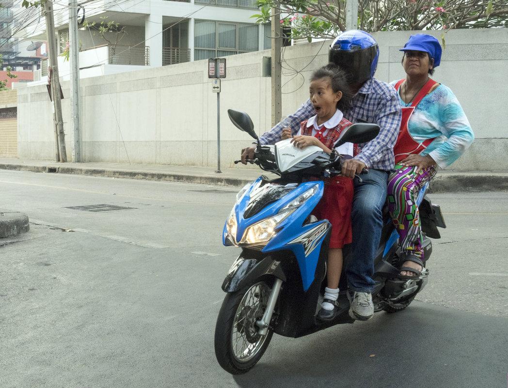 Таиланд. Бангкок. Байкеры - Владимир Шибинский