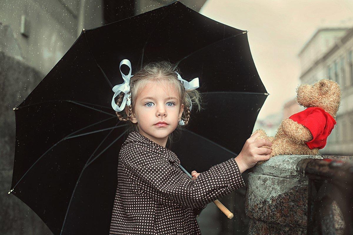 """""""Когда в городе дождь..."""" - Elena Fokina"""