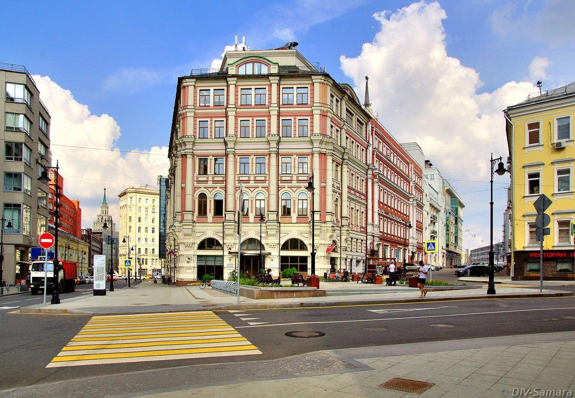 Бывш. меблированные комнаты «Кондратьев» в Москве - Денис Кораблёв