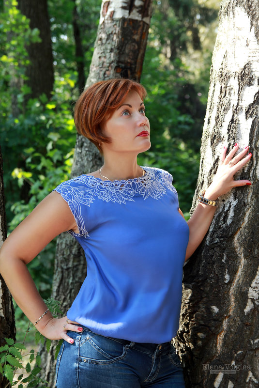 Рыжая девушка - Елена Волгина