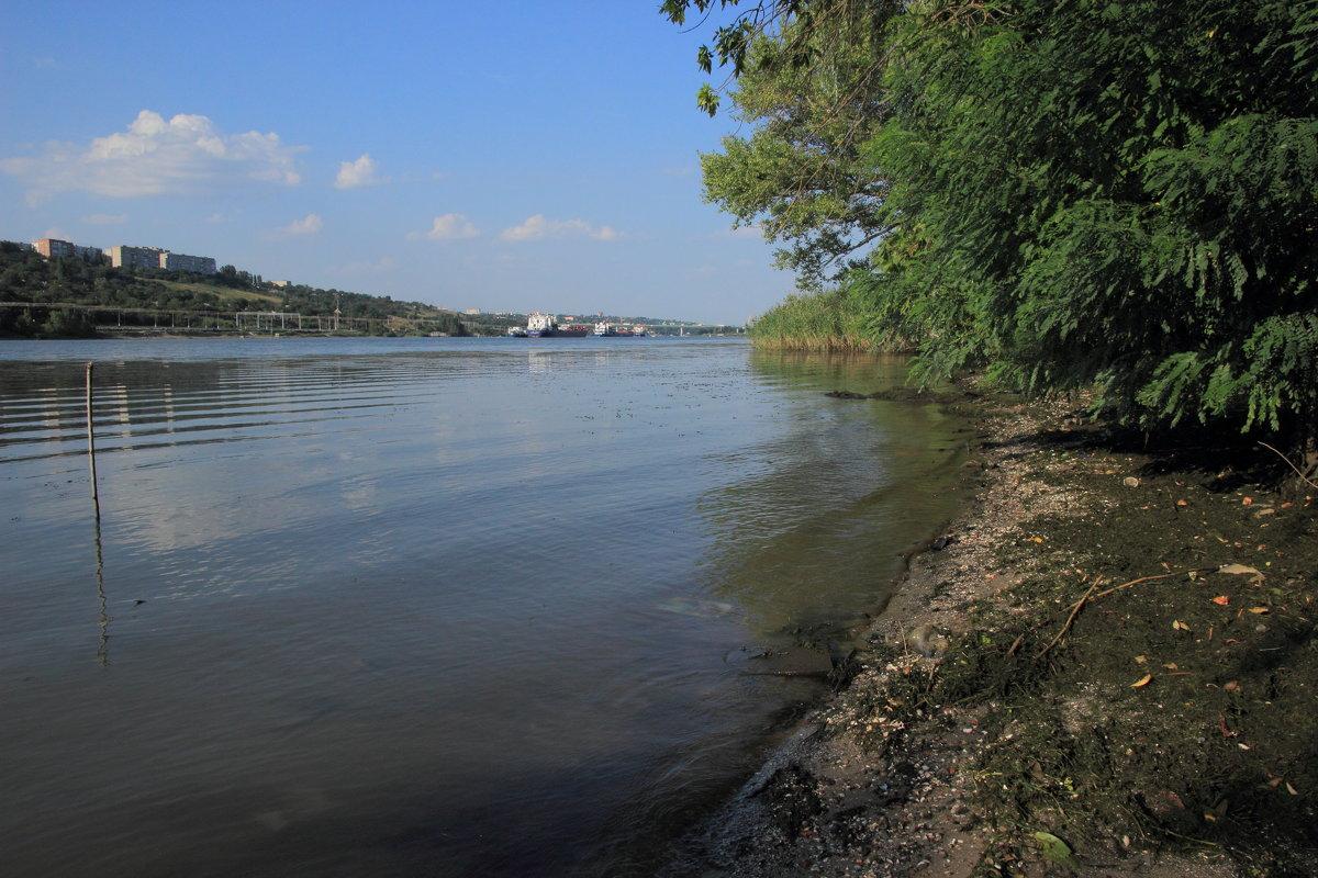 Донской пейзаж, август (ближе к вечеру) - Леонид