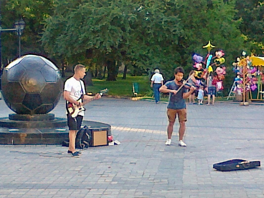Про музыкантов, а может быть про мяч... - Александр Резуненко