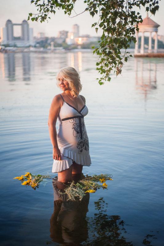 на закате - Кристина Волкова(Загальцева)