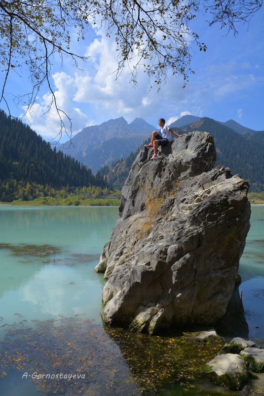 Озеро Иссык, - Anna Gornostayeva