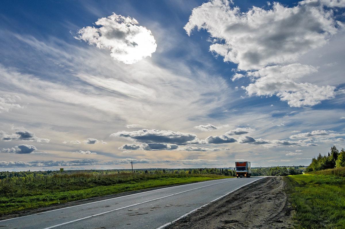 По дороге с облаками - Galina