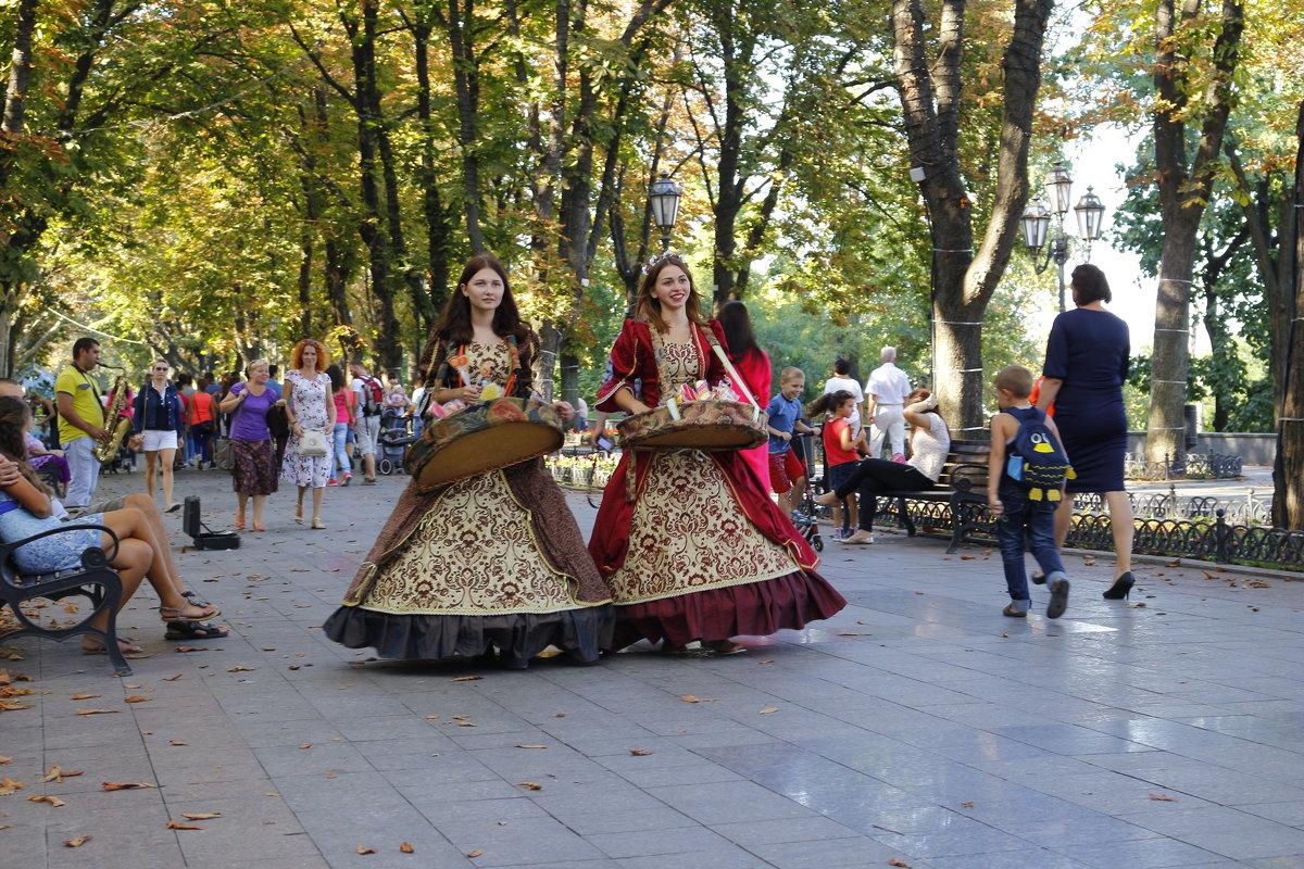 На Приморском бульваре - Михаил Кашанин