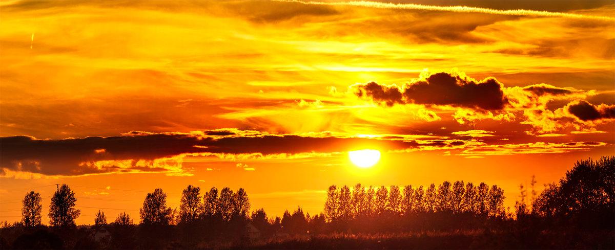 Солнцезакатная панорама - Анатолий Клепешнёв