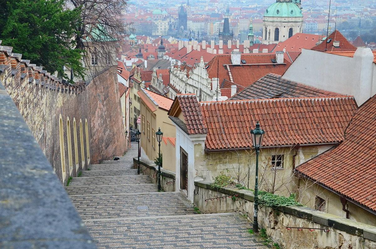 Королевская лестница, Пражский град - Владимир Брагилевский