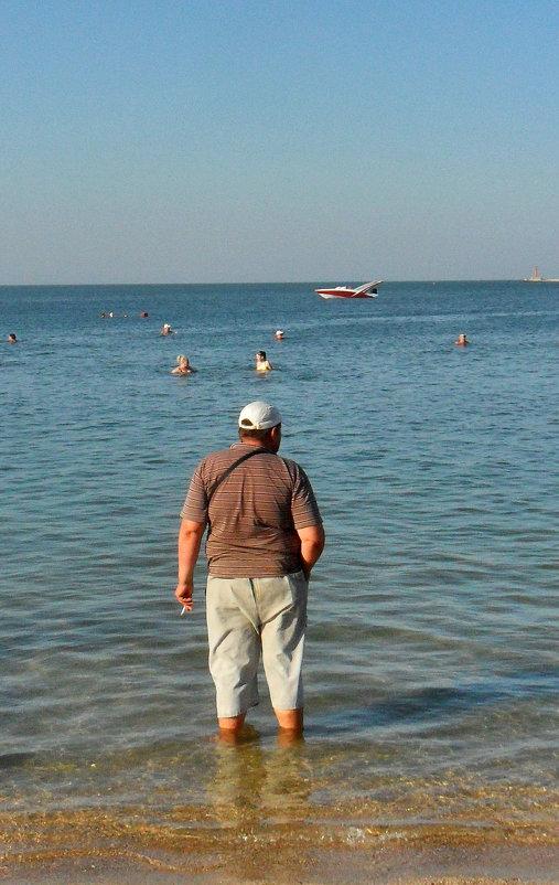 На море нет табличек ,,NO SMOKING,,! - Наталья