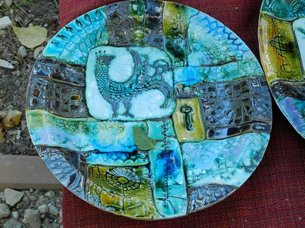 керамическое блюдо - Natalia Mihailova