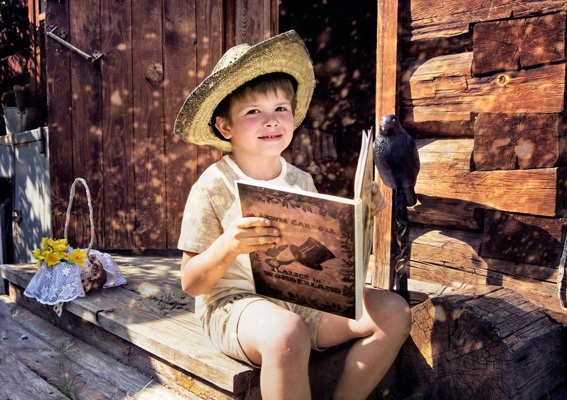 Мальчик-с-пальчик учится читать - Нина