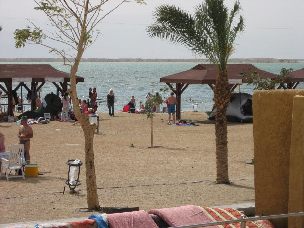 пляж мертвого моря Израиль - Вера Ярославцева