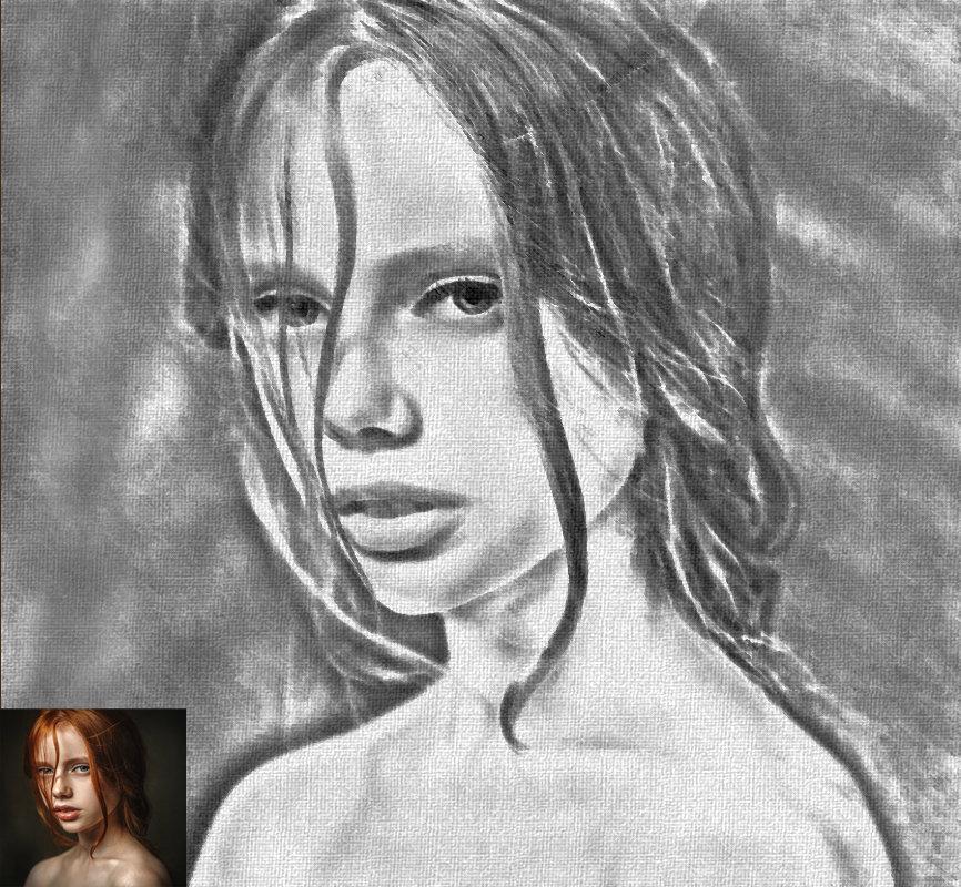 чернографитный - Анастасия сосновская