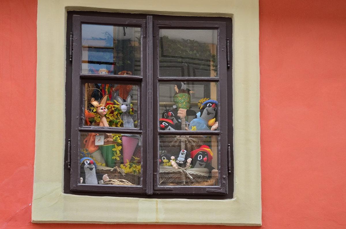 Злата улица, витрина, Пражский град - Владимир Брагилевский