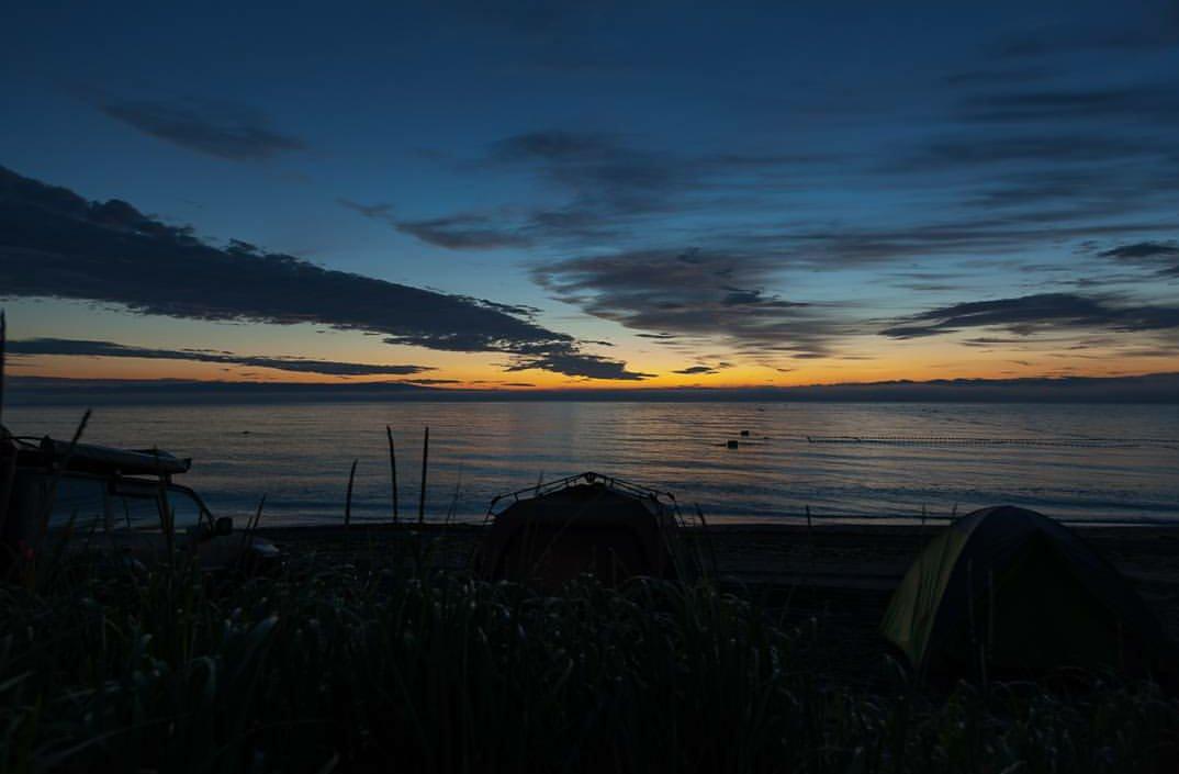 Первые минуты восхода солнца - Виталий