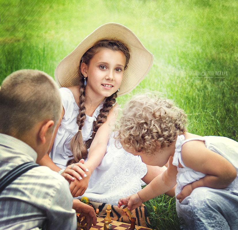 Пикник - Оксана Зволинская