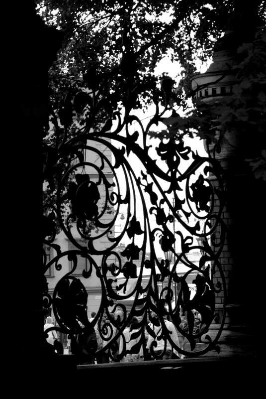 Решетка Михайловского сада - Юлия Зеленкова