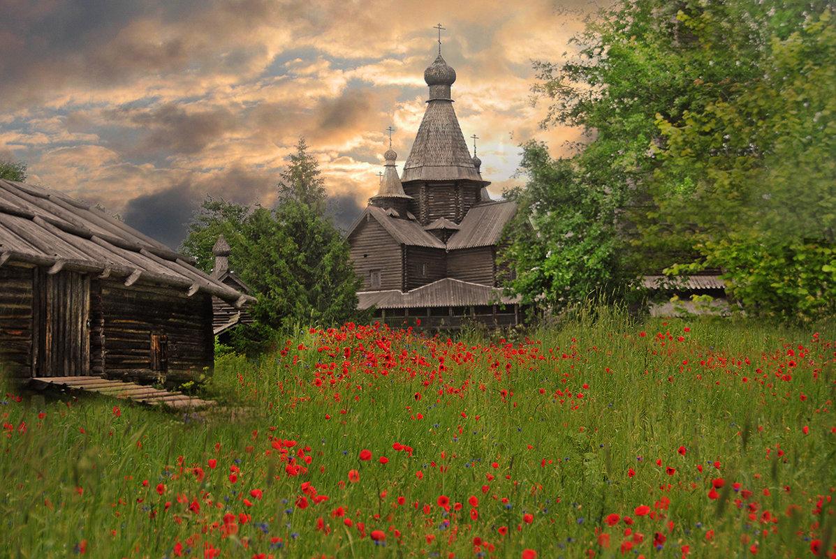 Русский пейзаж. - Виталий Внимательный.