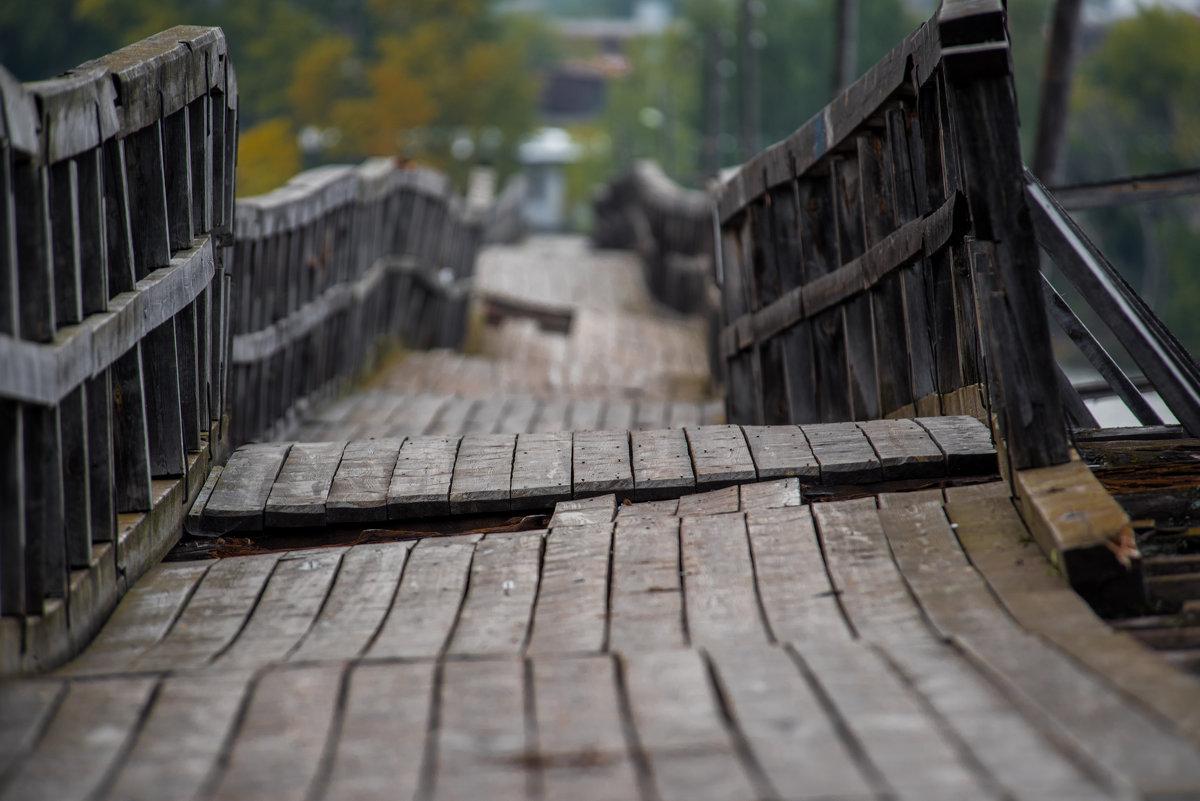 город Белорецк, самый длинный деревянный мост в России, 552 метра - Антон Журавлев