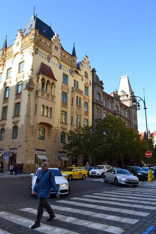 Архитектура Праги - Ольга