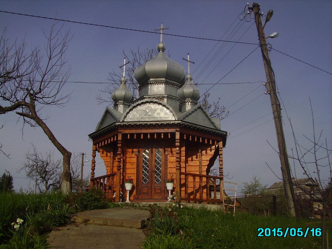 Деревянная   часовня  в  Ворохте - Андрей  Васильевич Коляскин