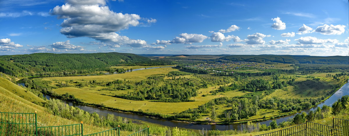 Вид с горы Янган тау, - Анатолий