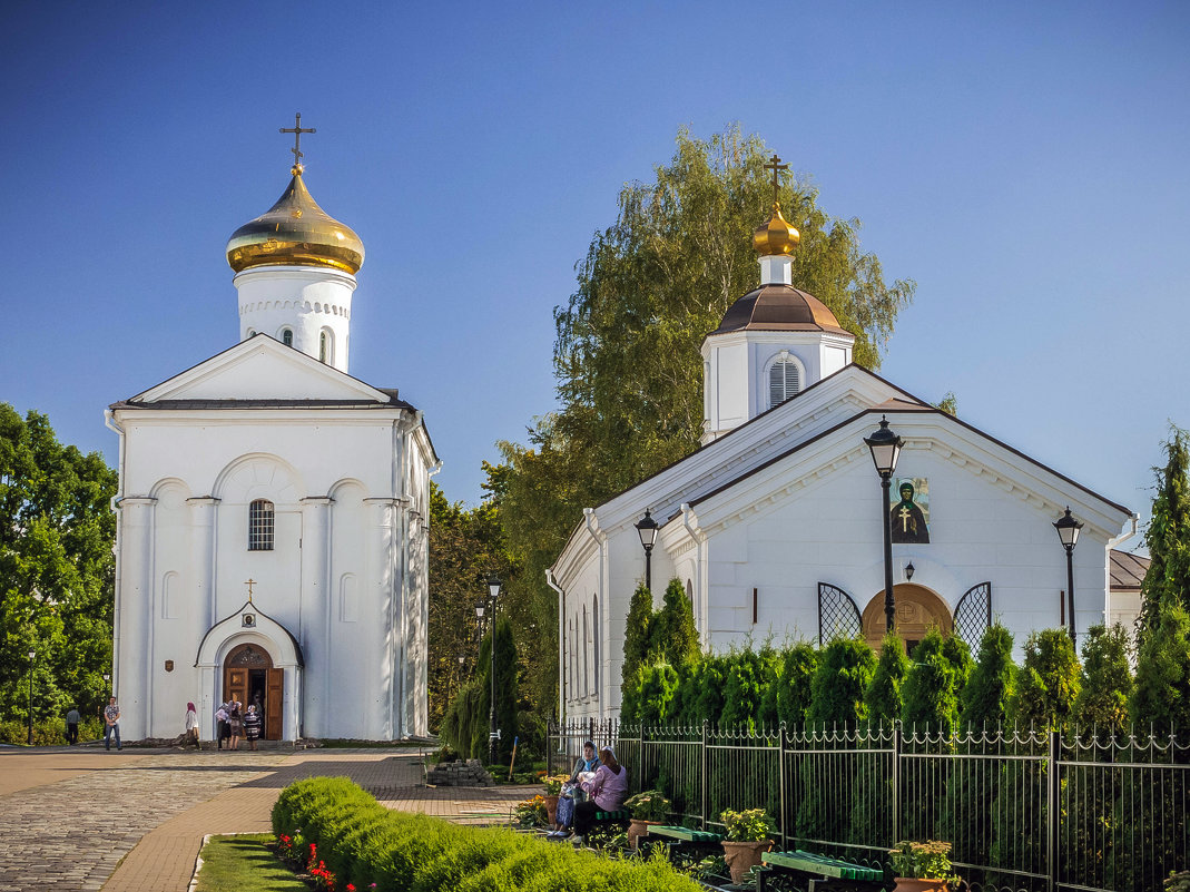 Спасо-Ефросиниевский монастырь.Полоцк. - Александр Рамус