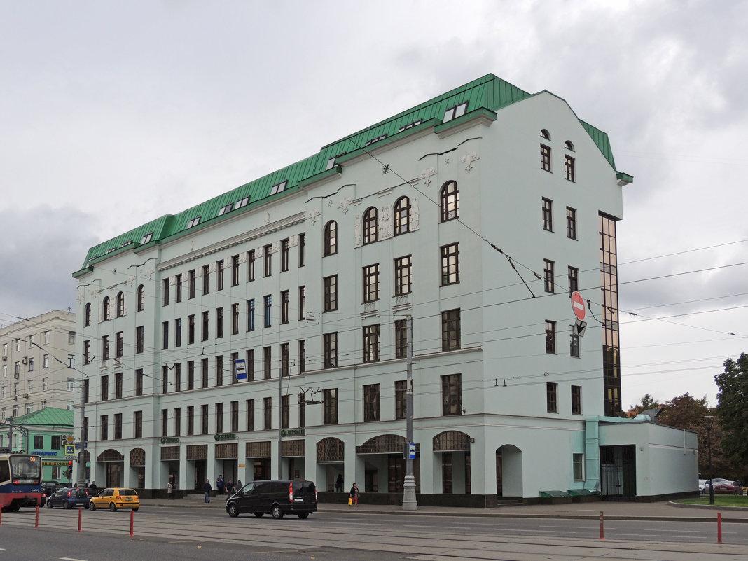 Доходный дом с электротеатром «Орион» - Александр Качалин