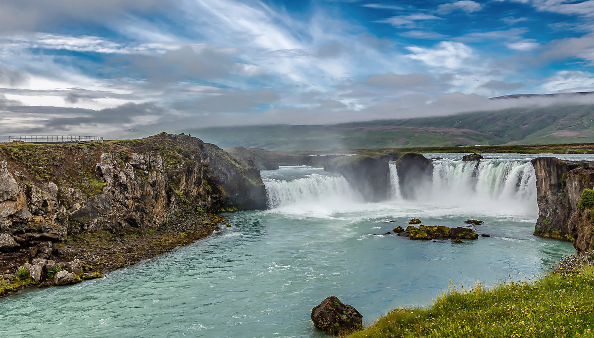 Iceland 07-2016 Godafoss 1 - Arturs Ancans