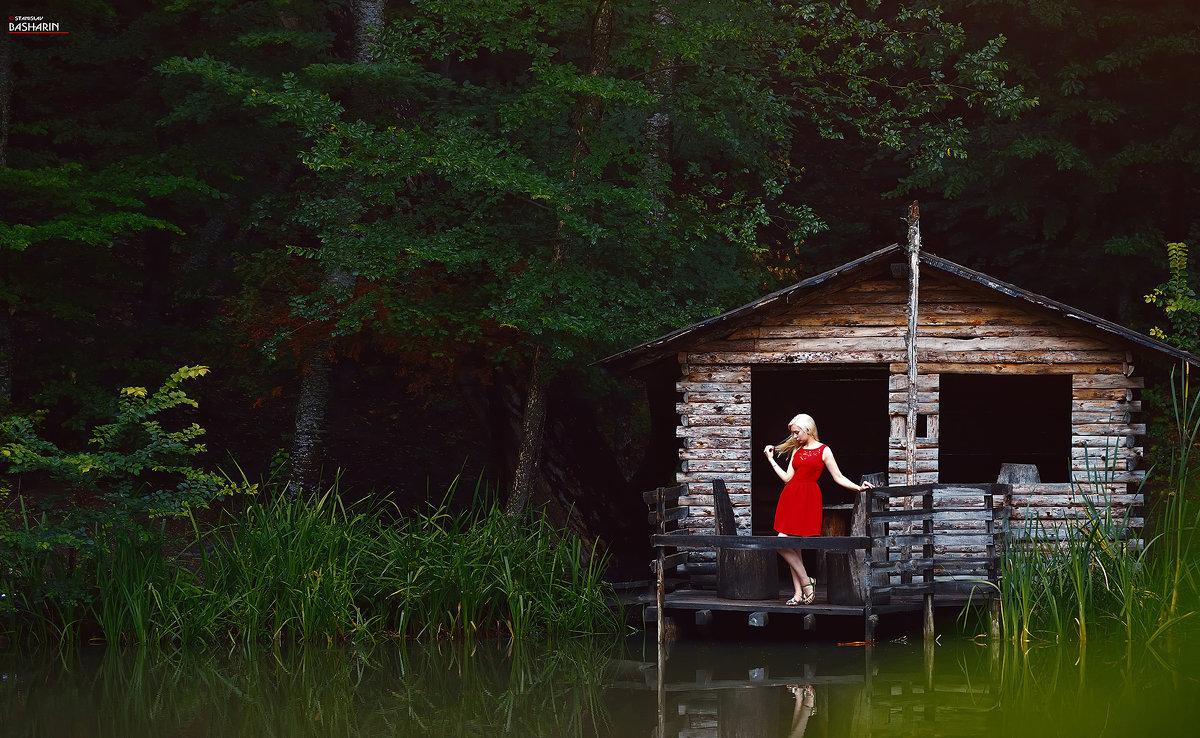 Горное озеро - Станислав Башарин