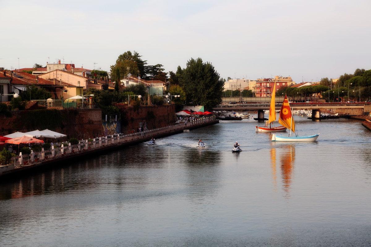 Римини, старый город - Larisa Ulanova