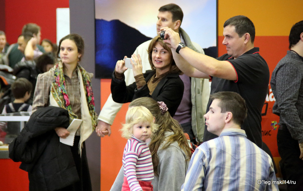 зрители и посетители - Олег Лукьянов