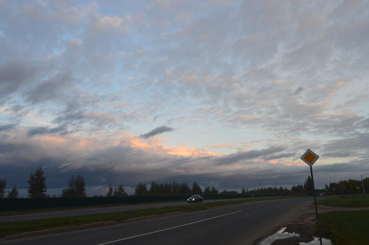 Вечернее небо - надежда