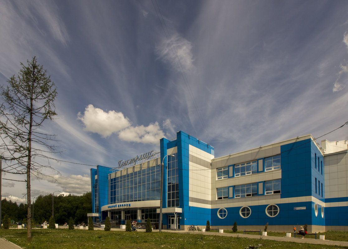 потоки неба над водным дворцом - gribushko грибушко Николай