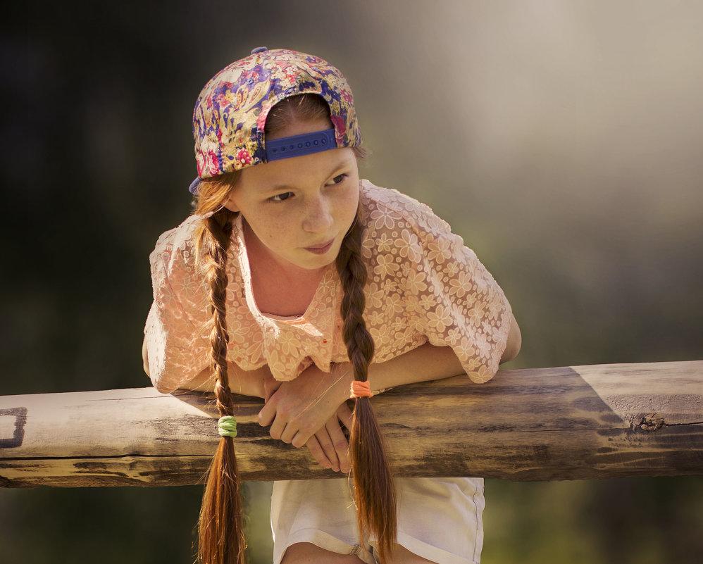 Девочка с косичками - Гульшат