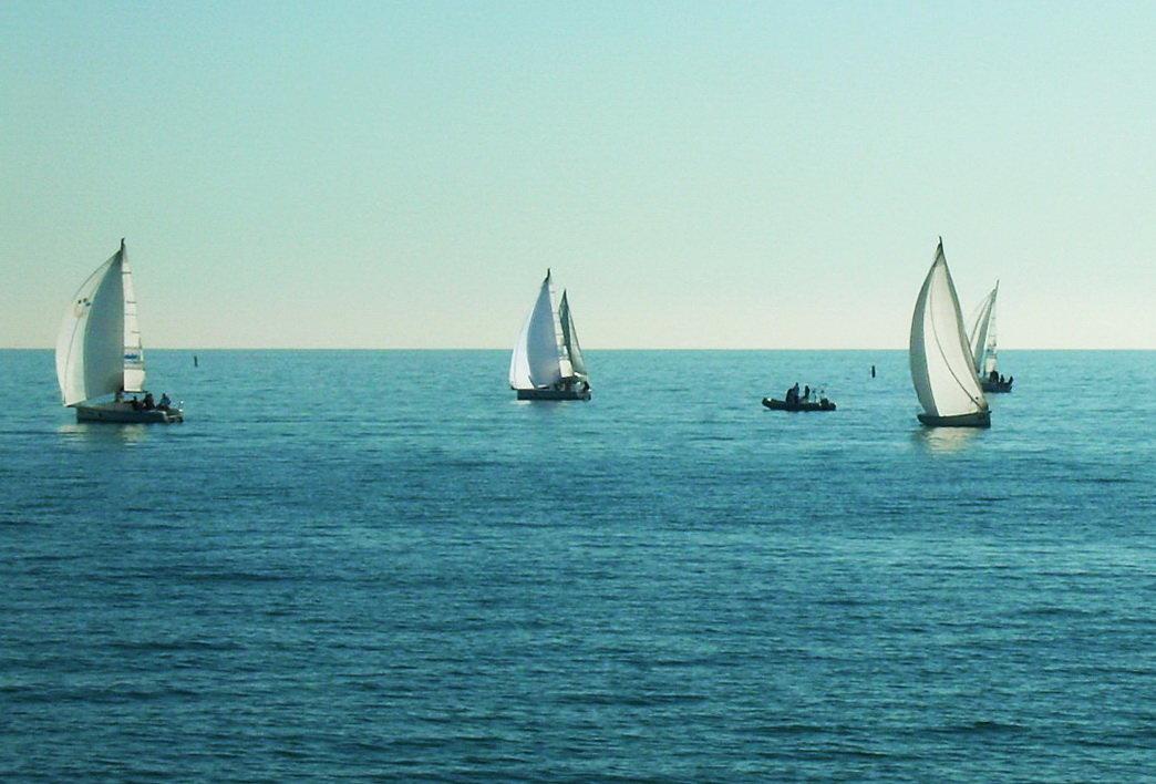 Сочи, море, яхты - татьяна