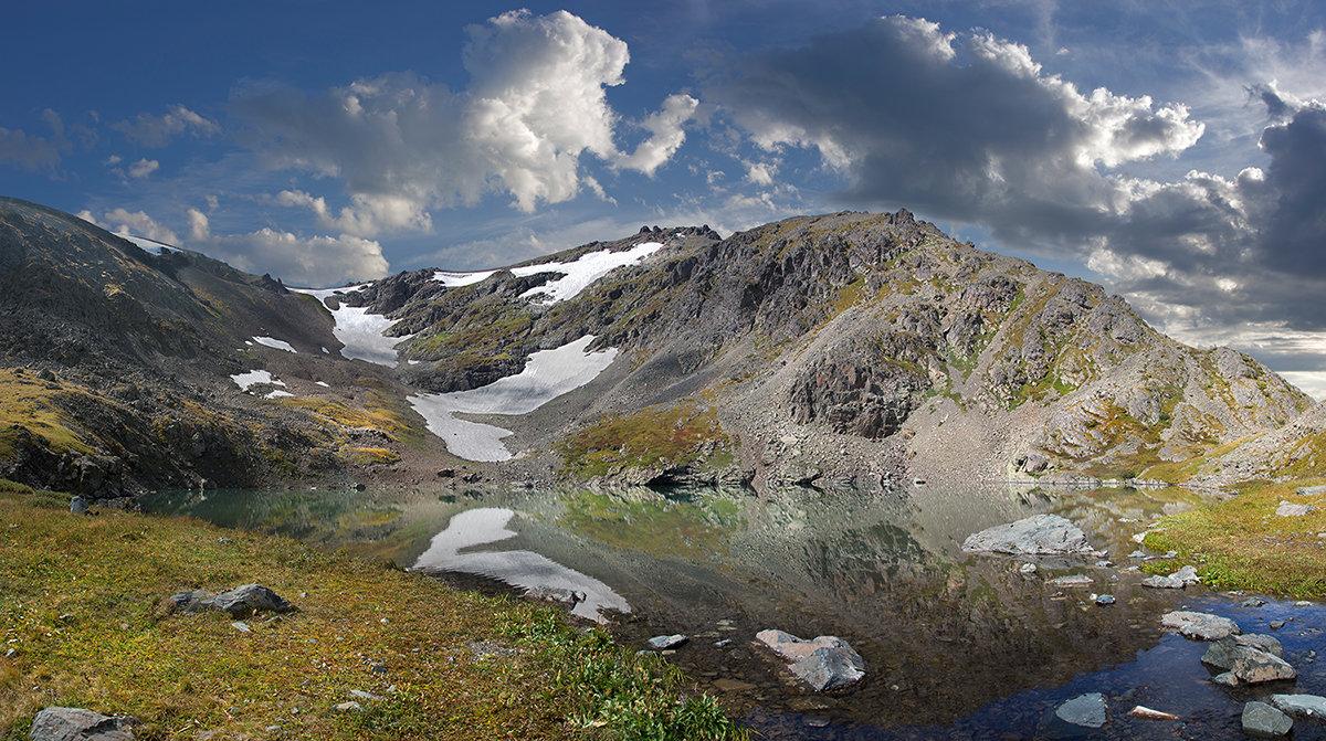 Горное озеро или откуда начинается река... - Евгений ...