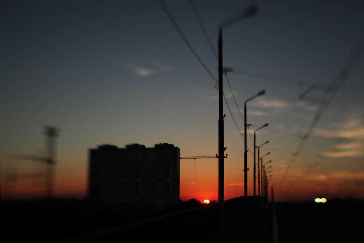 Закат - Елена Французова