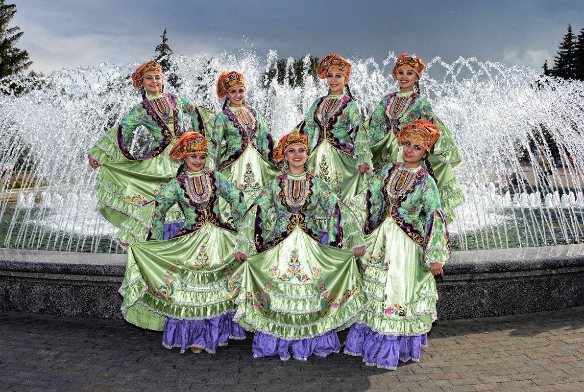 Семь красавиц у фонтана - arkadii