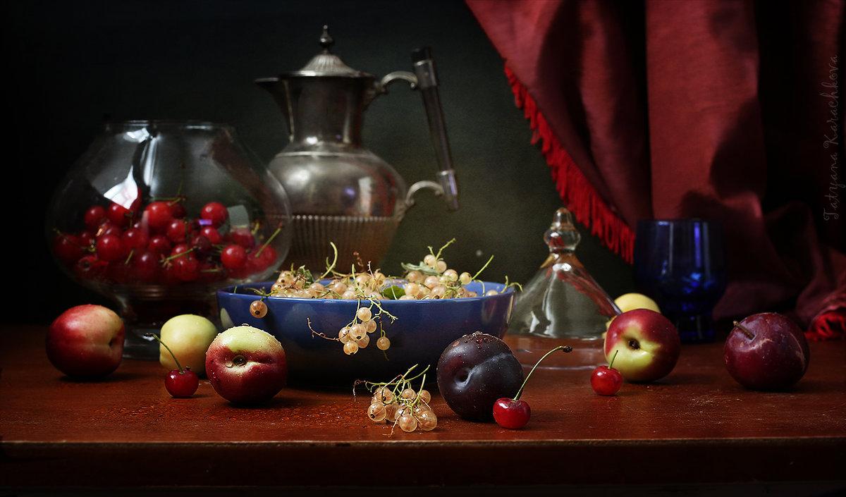 Белая смородина и вишня - Татьяна Карачкова
