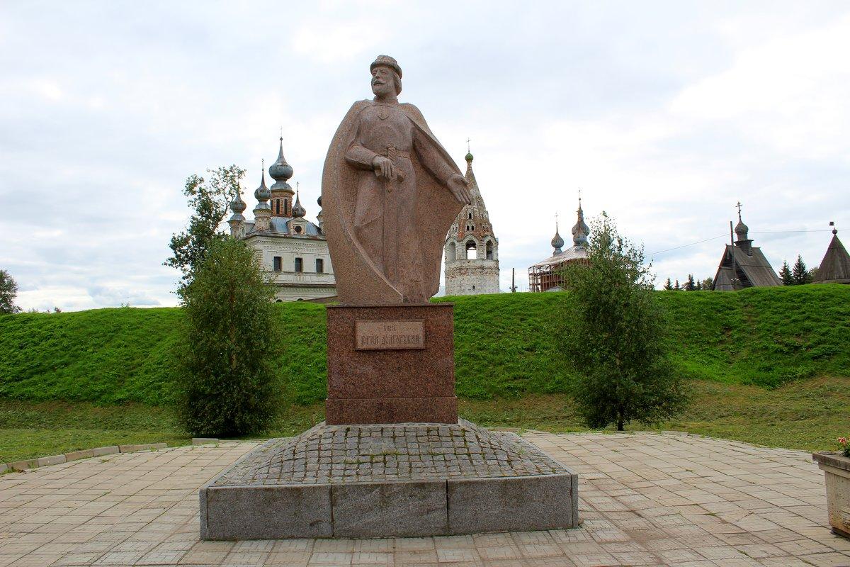 Памятник Юрию Долгорукому в Юрьев-Польском - Катя Бокова
