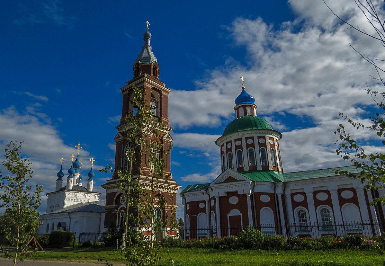 Свято-Покровский храм,Юрьев-Польский. - Сергей Цветков