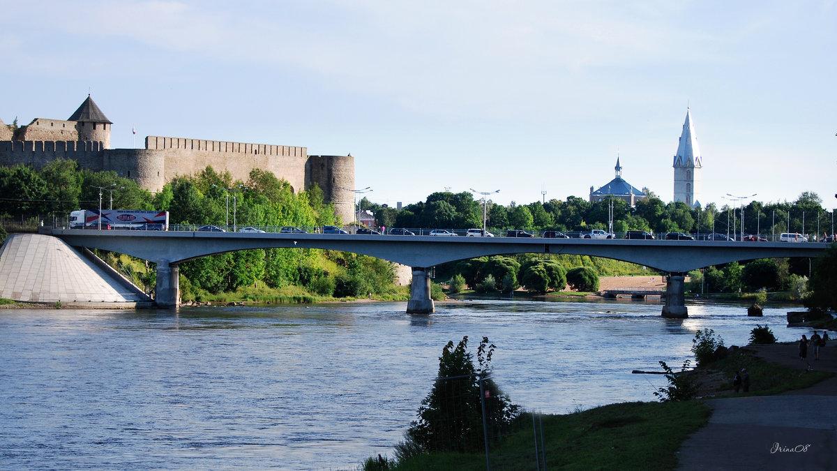 мост - граница - linnud