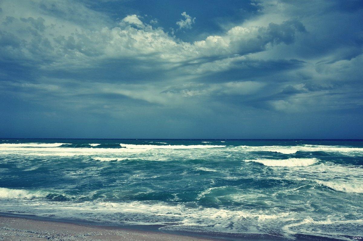 Морские волны сбегаются к берегу - Swetlana V
