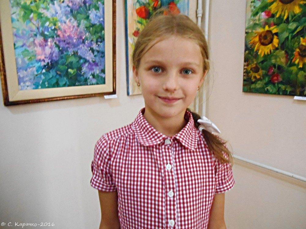 Юна художниця - Степан Карачко