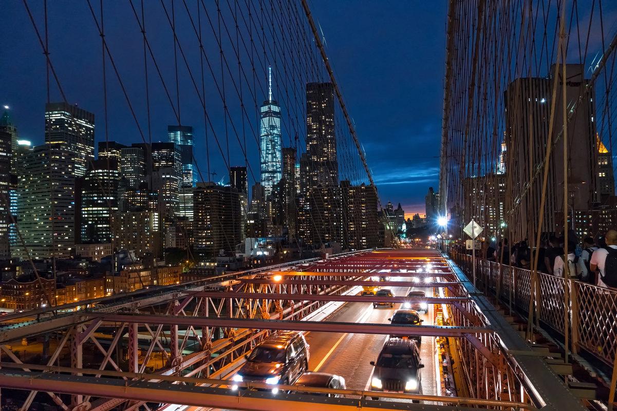 Brooklyn Bridge, NYC - Alex Kulnevsky