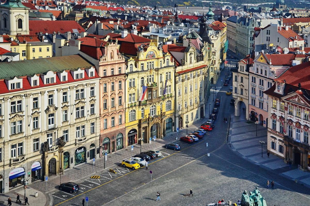 Староместская площадь - Владимир Брагилевский