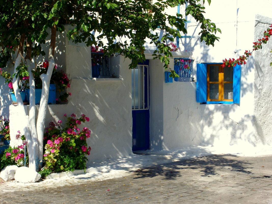 Старый традиционный дом на острове Эгина в Греции. - Оля Богданович